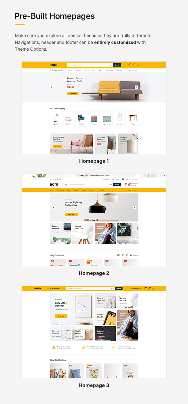 Aora - Home & Lifestyle Elementor WooCommerce Theme - 11