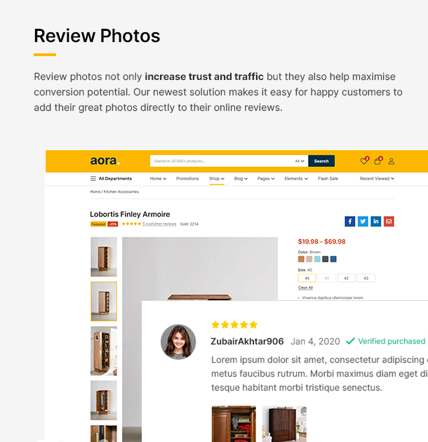Aora - Home & Lifestyle Elementor WooCommerce Theme - 17