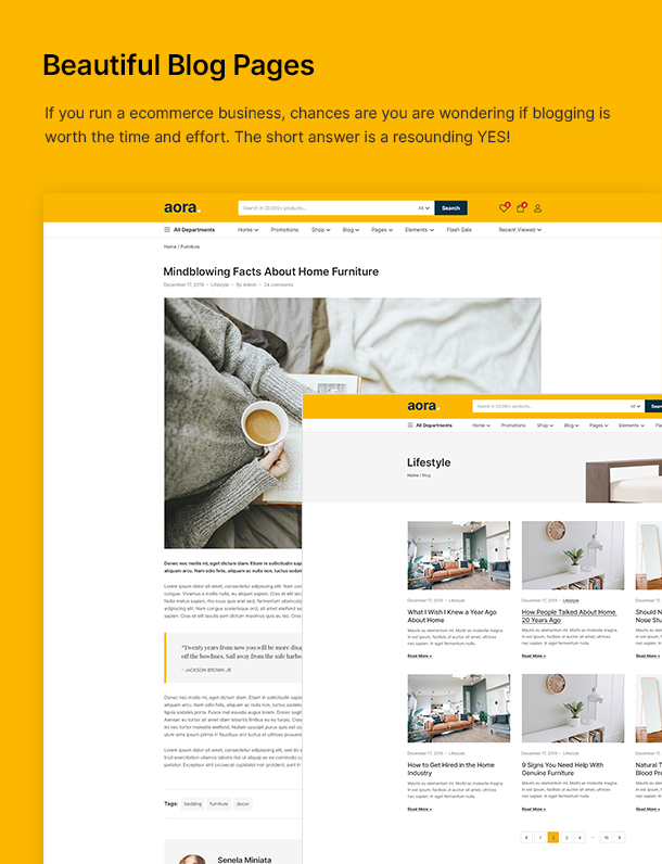Aora - Home & Lifestyle Elementor WooCommerce Theme - 19