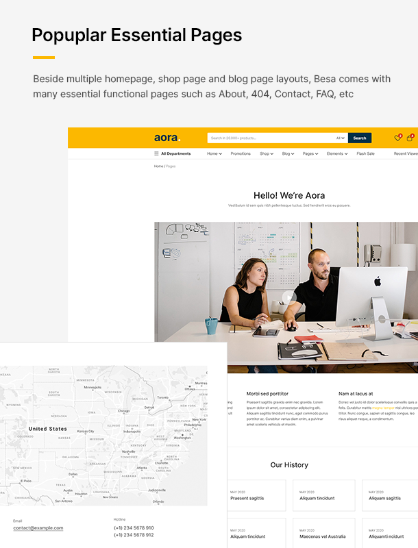 Aora - Home & Lifestyle Elementor WooCommerce Theme - 20