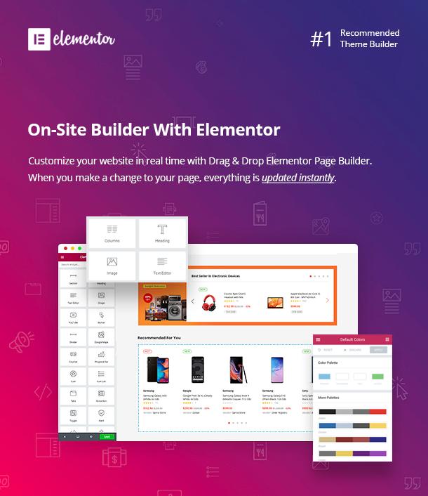 Besa - Elementor Marketplace WooCommerce Theme - 6