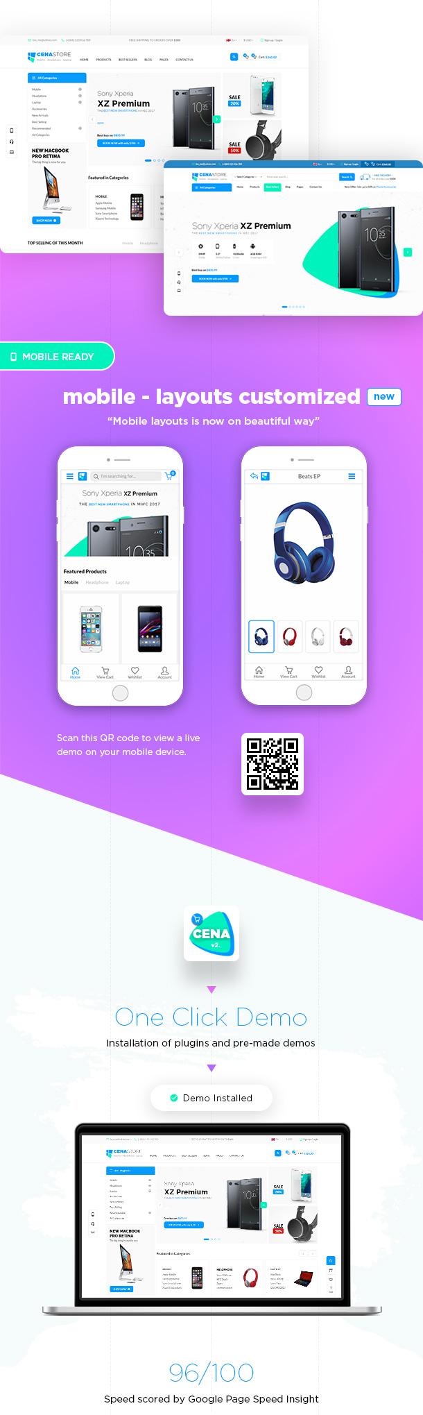 Cena Store - Multipurpose WooCommerce WordPress Theme