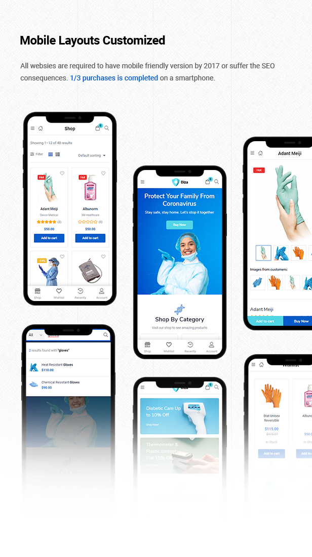 Diza - Pharmacy Store Elementor WooCommerce Theme - 10