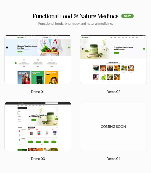 GreenMart – Organic & Food WooCommerce WordPress Theme - 9