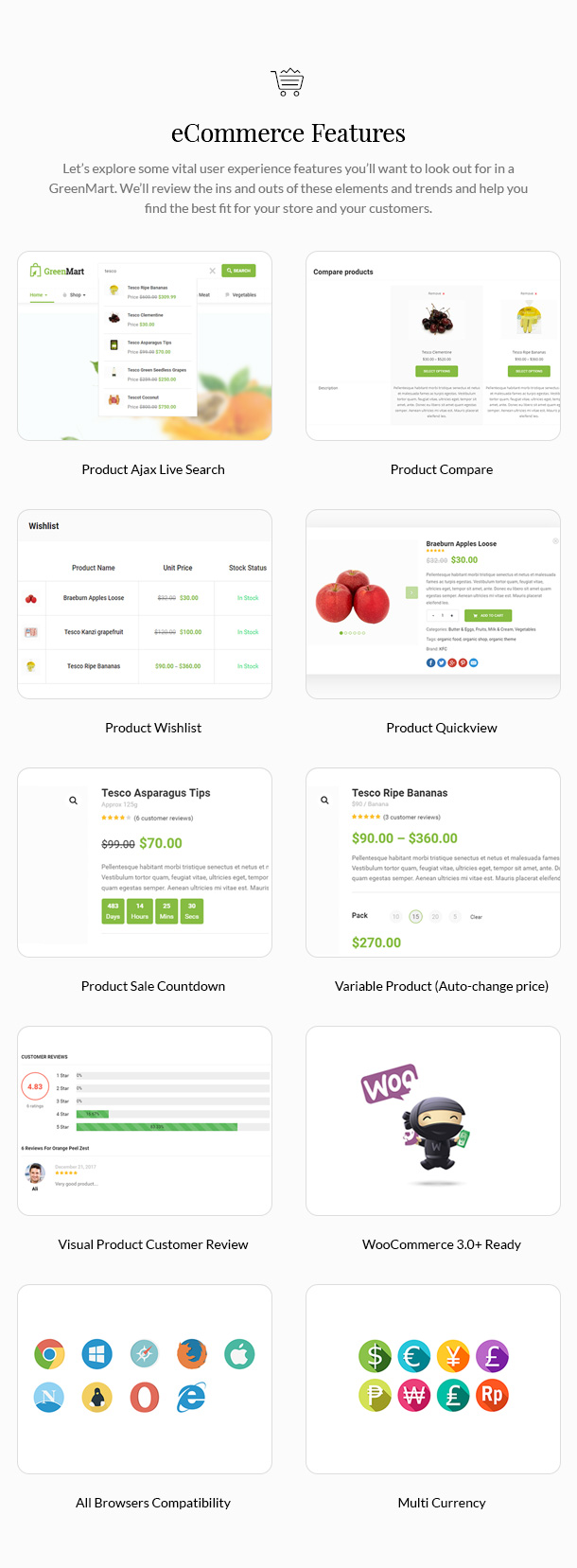 GreenMart – Organic & Food WooCommerce WordPress Theme - 15