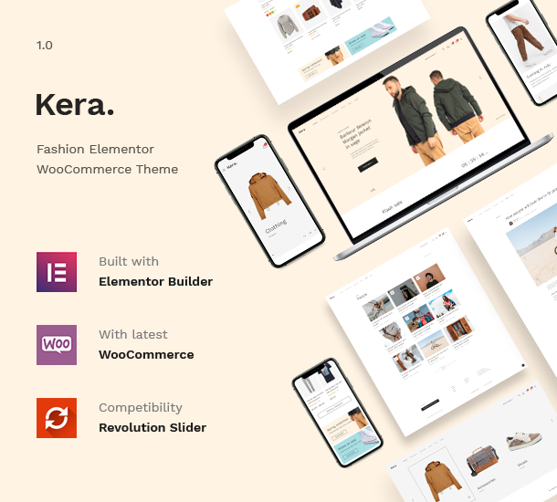Kera - Fashion Elementor WooCommerce Theme - 5