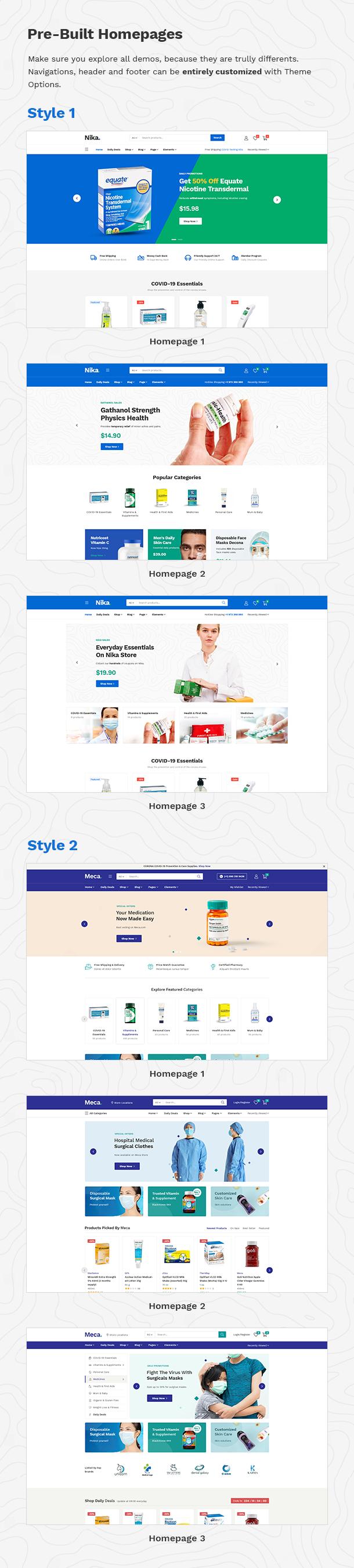 Nika - Medical Elementor WooCommerce Theme - 12