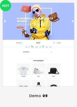 Puca - Optimized Mobile WooCommerce Theme - 24